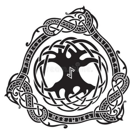 yggdrasil-scandinavian-design-tree-yggdrasil-nordic-pattern-vector-illustration-93052302